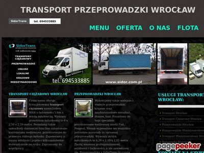 Transport mebli Wrocław