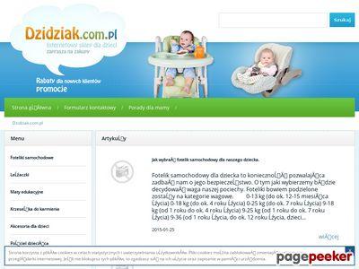 Wszystko dla dziecka - Dzidziak.com.pl
