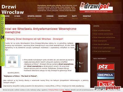 Drzwi we Wrocławiu Antywłamaniowe