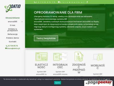 Enova System ERP - Oprogramowanie dla firm Katowice