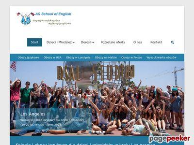Szkolenia językowe za granicą