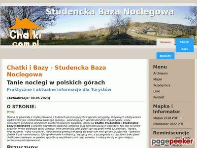 Studencka Baza Noclegowa - Tanie spanie w polskich górach