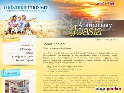 Sopot noclegi w Apartamentach Joasia