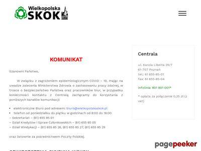 Wielkopolska SKOK - usługi finansowe, pożyczki