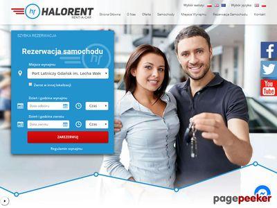 Wynajem samochodów - HaloRent
