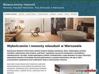 Nowoczesny Remont Warszawa